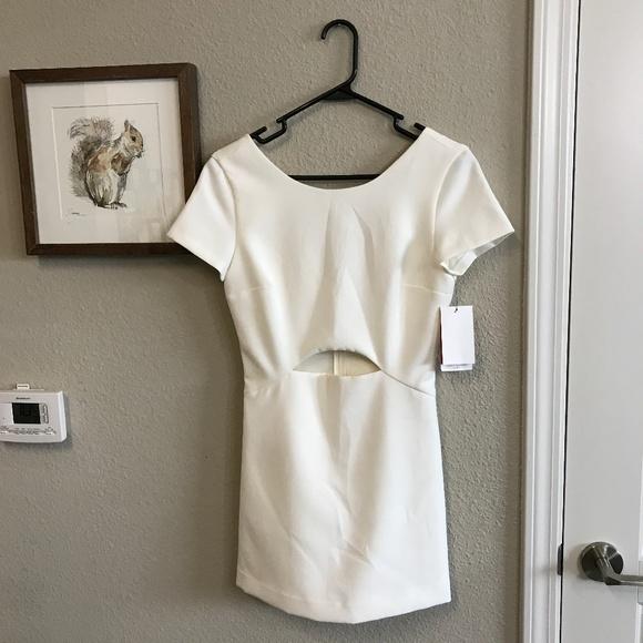 371fbd56 Zara Dresses   Nwt Mini White Club Dress In Size Small   Poshmark